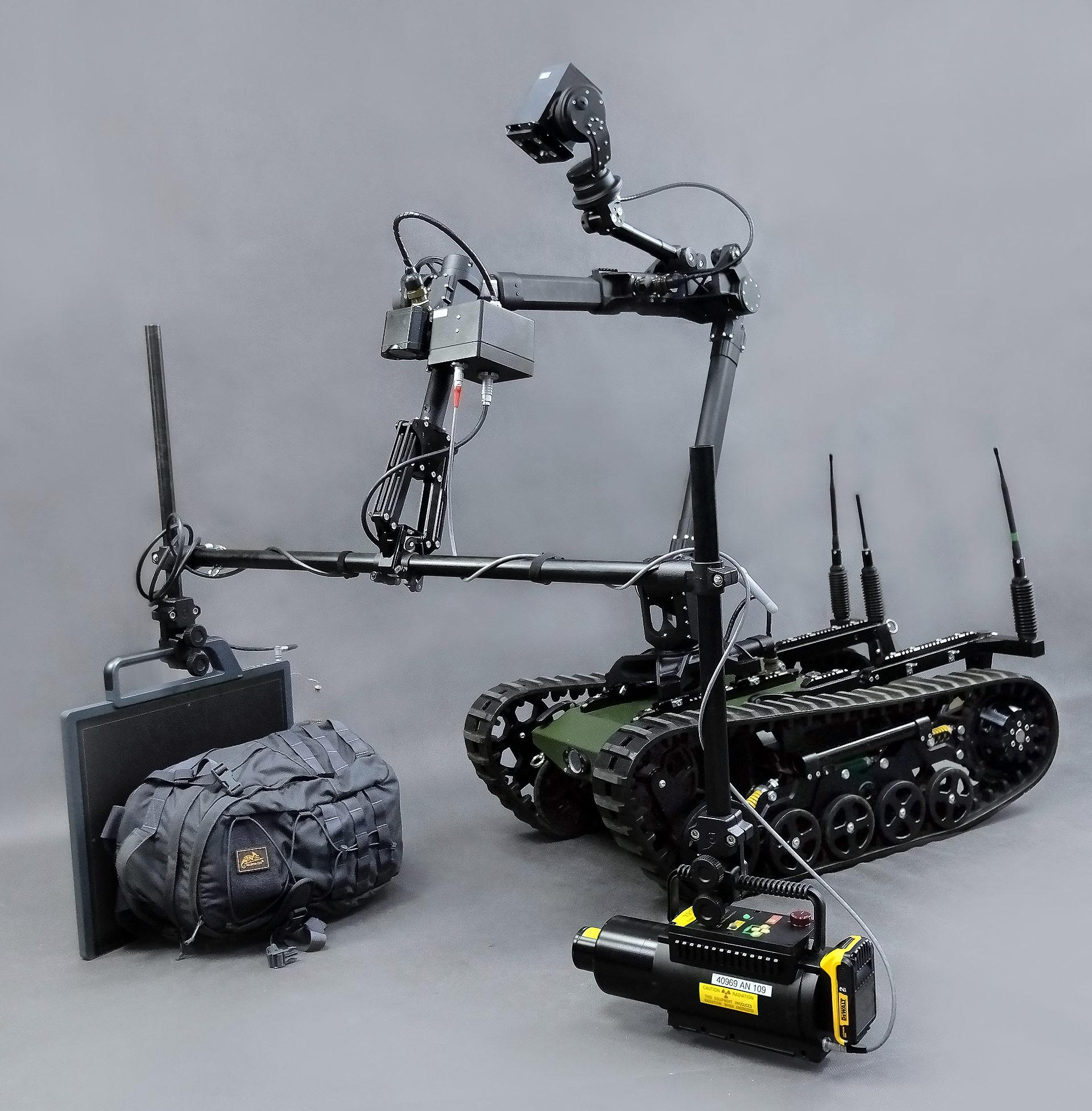 روبوت عسكري